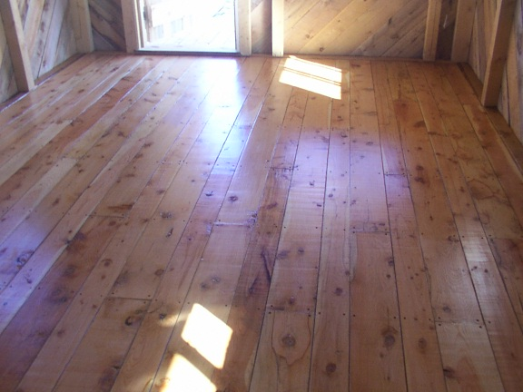 Floor Douglas-Fir Hand Made by Greenleaf Craftsmen