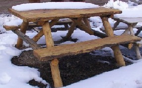 Log picnic table plans microfinanceindia here 8 foot cedar picnic table plans diy wood watchthetrailerfo